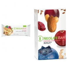 """NeoLifeBar - """"NeoLife"""" vaisių ir riešutų batonėlis (15 vnt. x 45 g)"""