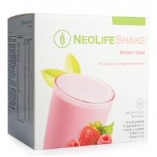 """NeoLifeShake - """"NeoLife"""" baltyminis kokteilis uogų skonio (15 pakelių po 42 g)"""