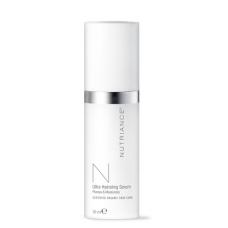 """Ultra Hydrating Serum - """"Nutriance"""" Organic intensyviai giliai odą drėkinantis serumas Normaliai ir Sausai odai (30 ml)"""