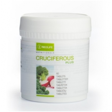 """Cruciferous Plus - """"NeoLife"""" kryžmažiedžių daržovių mitybos papildas (60 tablečių)"""