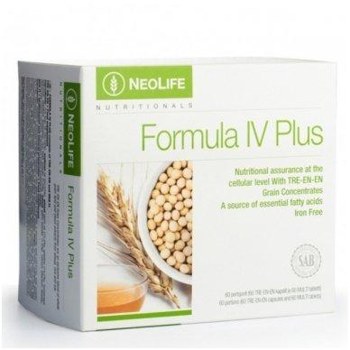 """Formula IV Plus - """"NeoLife"""" polivitaminų/mineralų mitybos papildas (60 kapsulių/tablečių)"""