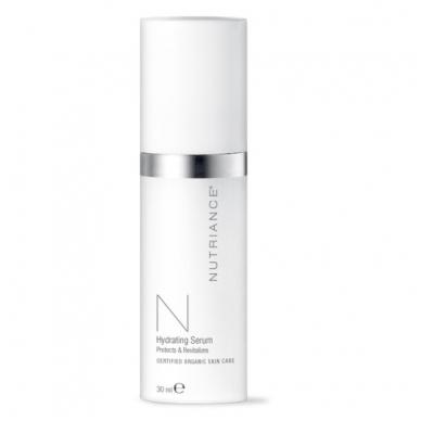 """Hydrating Serum - """"Nutriance"""" Organic giliai odą drėkinantis serumas Mišriai ir Riebiai odai (30 ml)"""