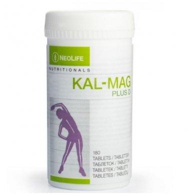 """Kal-Mag Plus D - """"NeoLife"""" kalcio, magnio ir vit. D3 mitybos papildas (180 tablečių)"""