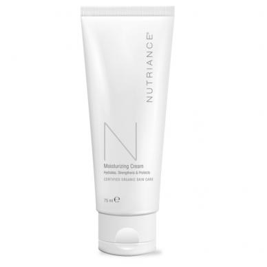 """Moisturizing Cream - """"Nutriance"""" Organic drėkinantis kremas Mišriai ir Riebiai odai (75 ml)"""