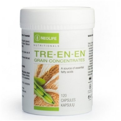 """Tre-en-en - """"NeoLife"""" gerųjų riebalų iš grūdų mitybos papildas (120 kapsulių)"""