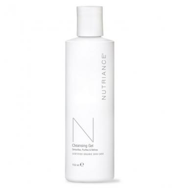 """Cleansing Gel - """"Nutriance"""" Organic valomasis gelis Mišriai ir Riebiai odai (150 ml)"""