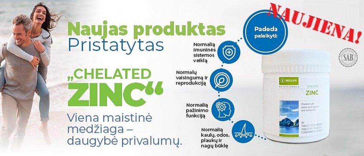 ZINC - naujas produktas!