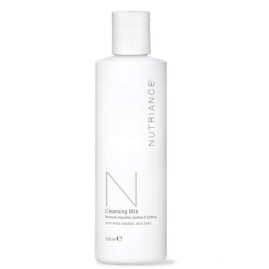 """Cleansing Milk - """"Nutriance"""" Organic valomasis pienelis Sausai ir Normaliai odai (150 ml)"""