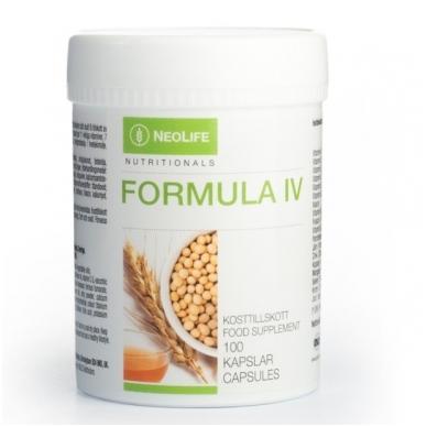 """Formula IV - """"NeoLife"""" polivitaminų/mineralų mitybos papildas (100 kapsulių)"""