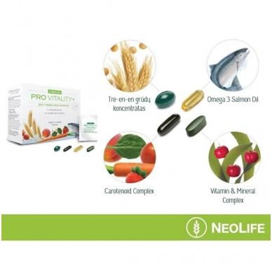 """Pro Vitality Plus - """"NeoLife"""" kompleksinis mitybos papildas (1x30 maišelių) 2"""