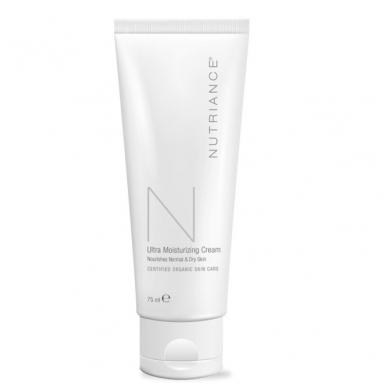 """Ultra Moisturizing Cream - """"Nutriance"""" Organic intensyviai drėkinantis kremas Normaliai ir Sausai odai (75 ml)"""